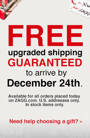 FREE Upgraded Shipping Guaranteed to Arrive by Dec. 24th!